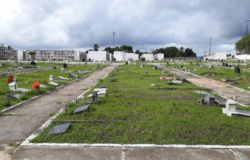 [Leitores reclamam de convocação para retirar restos mortais do cemitério da Gleba H]
