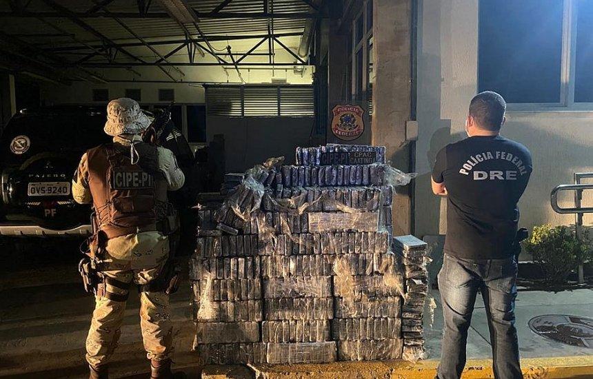 [Santo Estevão: Cocaína pura apreendida em caminhões-tanque é avaliada em mais de R$ 37 milhões]