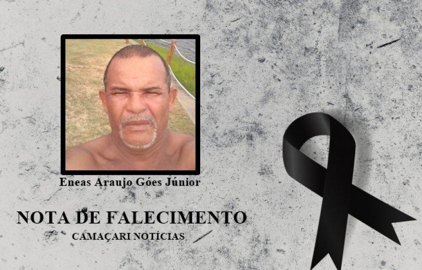 [Amigos e familiares lamentam o falecimento do Sr. Eneas Araújo]