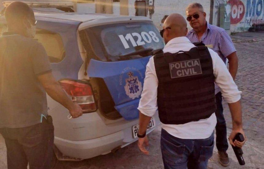 [Bahia: Homem é preso após ir armado a delegacia para pedir emprego de carcereiro]