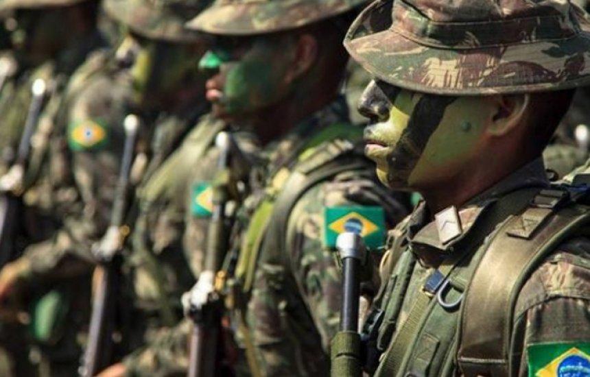[Exército faz seleção para trabalhar em obra com salários de até R$ 8,9 mil]