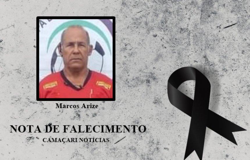 [Nota de Pesar: família e amigos dão o último adeus para Marcos Arize]