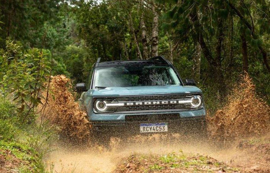[Ford Bronco Sport recebe classificação máxima de segurança nos Estados Unidos]