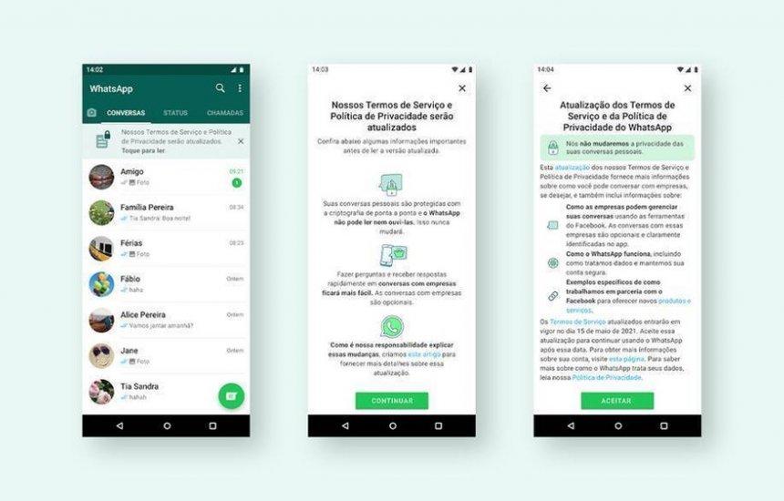 [WhatsApp vai mudar política de privacidade no sábado; entenda]