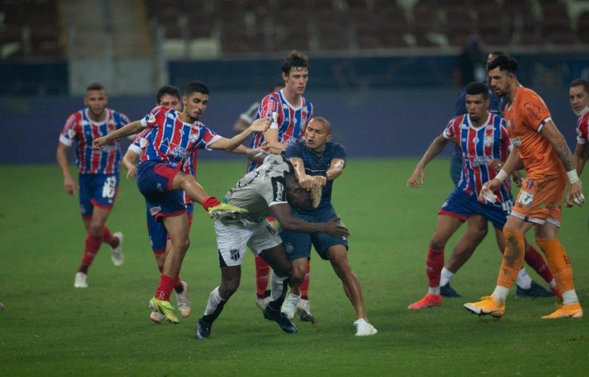 [Procuradoria apresenta denúncia contra Bahia, Ceará e seis jogadores após briga generalizada]