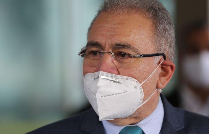 [Queiroga diz que 'não compete' ao Ministério da Saúde decidir sobre Copa América]