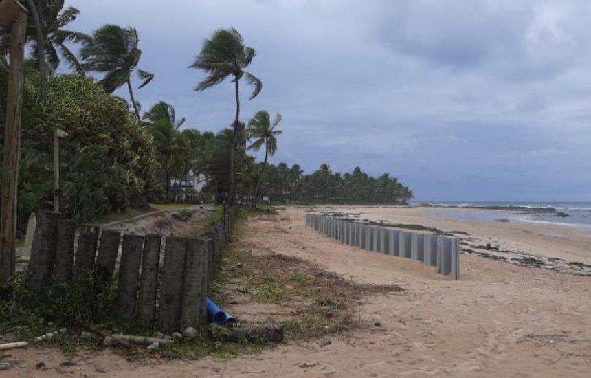 [Obras na praia atingem tartarugas marinhas, diz Conselho de Meio Ambiente de Camaçari]