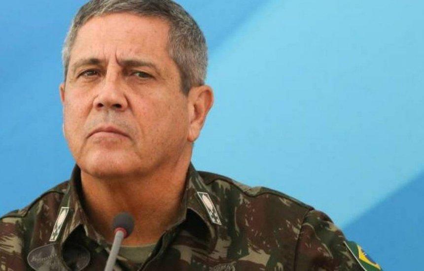 [Braga Netto nega ter ameaçado o presidente da Câmara e colocado eleição de 2022 em risco]