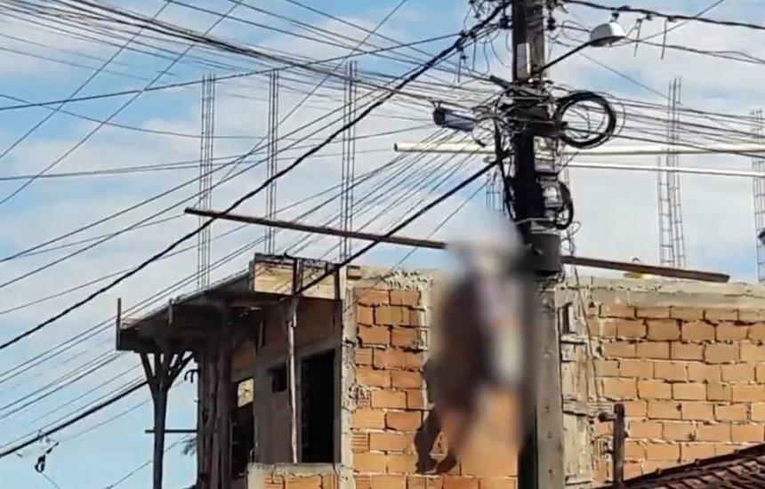 [Idoso morre eletrocutado após encostar em fio de alta tensão em Porto Seguro]