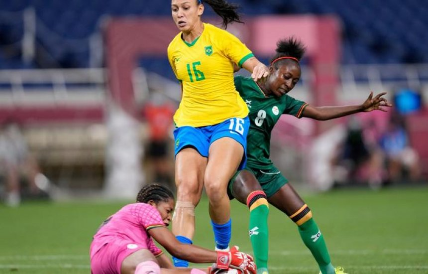 [Futebol feminino: Brasil 'economiza' contra Zâmbia e pega Canadá nas quartas]