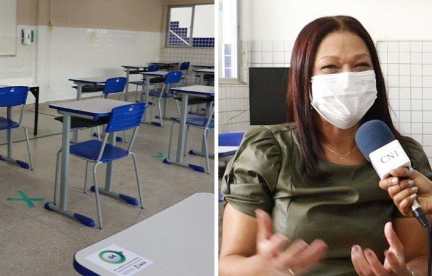 [Secretária detalha como será o retorno das aulas semipresenciais em Camaçari]