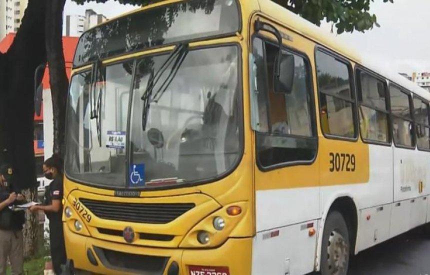 [Homens armados assaltam passageiros e disparam contra ônibus em Salvador]