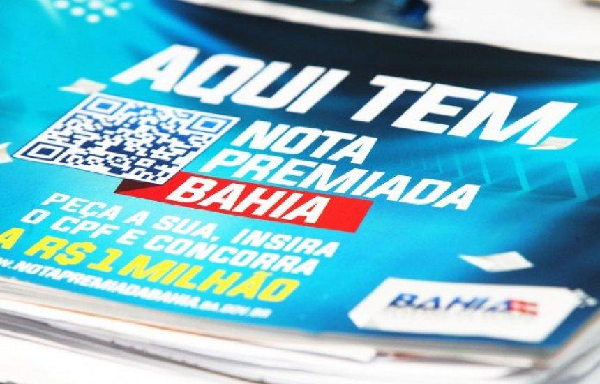 [Participantes da Nota Premiada Bahia têm até dia 31 de julho para concorrer ao sorteio de campanha]