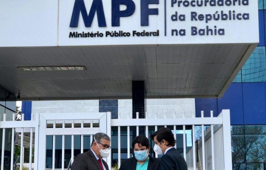 [Vereadores de Camaçari apresentam representação ao MPF sobre o caso Busca Vida]