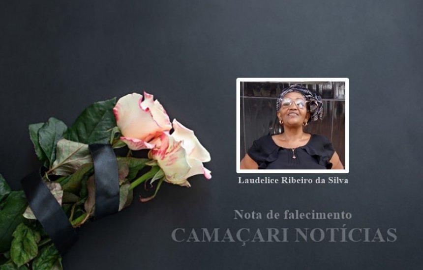 [Nota de Pesar: familiares dão o último adeus para a Srª Laudelice Ribeiro]
