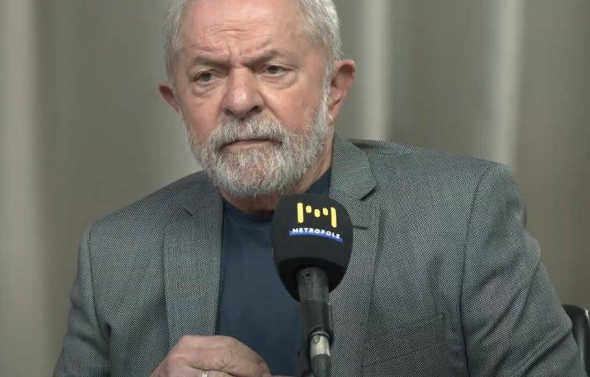 [Lula: 'Não tem um candidato que tenha moral para falar de corrupção no PT']