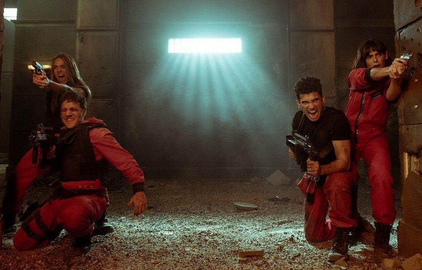 [Netflix lança vídeo e divulga curiosidades sobre 'La Casa de Papel']
