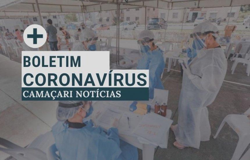 [Boletim coronavírus: Camaçari tem 35 casos ativos]