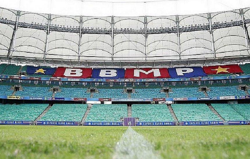 [Esperando público nos estádios, Bahia estabelece prioridades na compra de ingressos]