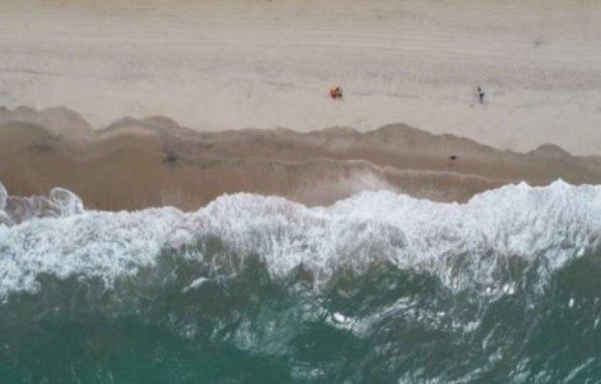 [Tsunami de risco baixo atingiria o Brasil nove horas após erupção explosiva na Espanha]