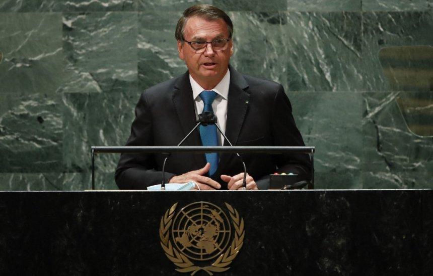 [Em discurso na ONU, Bolsonaro defende tratamento sem eficácia contra Covid-19]