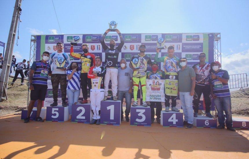 [2ª Etapa do Baiano de Bicicross fecha fim de semana esportivo em Camaçari]