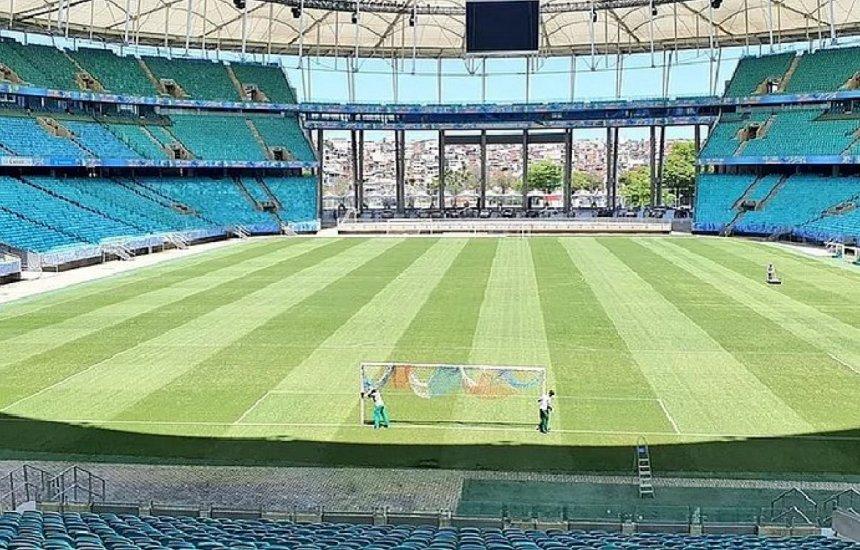[Bahia inicia processo para venda dos ingressos no retorno do público à Fonte Nova]