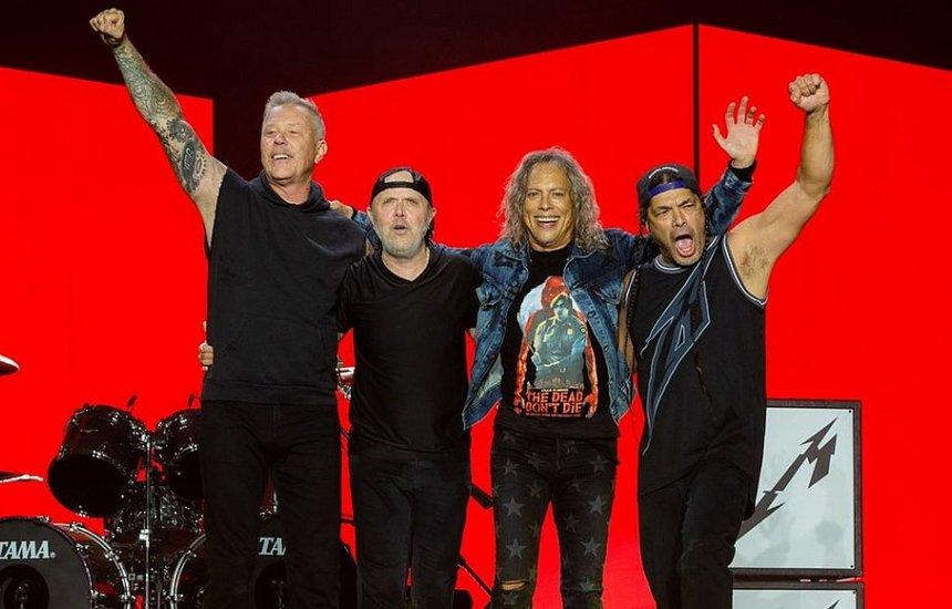 [Metallica remarca shows no Brasil para maio de 2022]