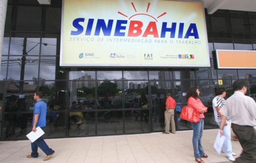 SineBahia oferta nesta quinta-feira (28) vagas de emprego para RMS e interior da Bahia