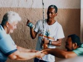 [Camaçari Negra: Mestre Ismael transforma vidas através da capoeira]